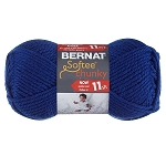 BERNAT SOFTEE CHUNKY, ROYAL BLUE