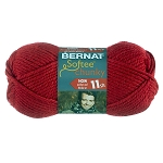 BERNAT SOFTEE CHUNKY, BERRY RED