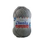 Bernat Softee Chunky 400gm yarn, Grey Heather