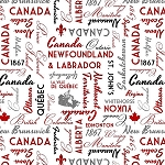 CANADIANISM, WHITE TOSSED WORDS,BY WILMINGTON