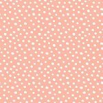 LITTLE FOREST, LIGHT CORAL DOTS, BY 3 WISHES
