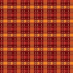 PUMPKIN SPICE ,PLAID, BY FABRIC EDITIONS