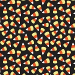 TRICK or TREAT,CANDY CORN , BY QUILTER'S  PALETTE