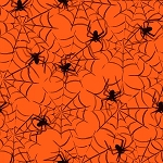 BOO SPIDERWEBS, BY QUILTER'S PALETTE