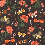 GLORIOUS GARDEN,FLOWERS AND BUTTERFLIES, BY QUILTER'S PALETTE