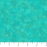 ARTISAN SHIMMER, AQUA SMALL GOLD DOT, BY NORTHCOTT