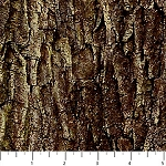 NATURESCAPES, BROWN MOSSY BARK ,BY NORTHCOTT