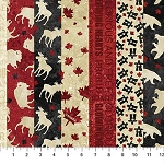 OH CANADA 6,MULTI STRIPS, BY NORTHCOTT