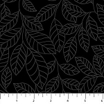 SIMPLY NEUTRAL  BLACK  SMALL LEAVES , BY NORTHCOTT