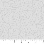 SIMPLY NEUTRAL  GRAY  LARGE LEAVES, BY NORTHCOTT