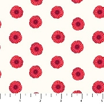 POPPY LOVE ,CREAM SMALL POPPIES, BY NORTHCOTT