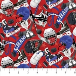 ALL STAR HOCKEY RED EQUIPMENT , BY NORTHCOTT