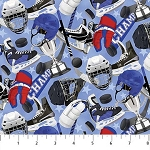 ALL STAR HOCKEY,BLUE  EQUIPMENT , BY NORTHCOTT