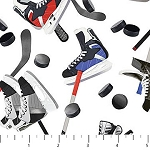ALL STAR HOCKEY,WHITE SKATES , BY NORTHCOTT