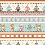 CAMP-A-LONG CRITTERS, STRIPE , BY STUDIO E