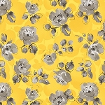 SOLEIL YELLOW SMALL FLORAL, BY WINDHAM