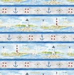HARBOR LIGHTS,MULTI REPEATING STRIPE, BY WILMINGTON