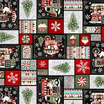 YULETIDE CHEER, PATCHWORK  BY STUDIO E