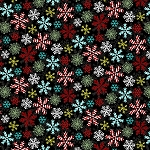 YULETIDE CHEER, BLACK  SNOWFLAKES  BY STUDIO E