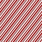 YULETIDE CHEER,  RED PEPPERMINT STRIPE  BY STUDIO E