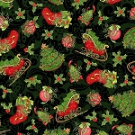 CHRISTMAS HOLLY VINES, BY SPRING CREATIVE
