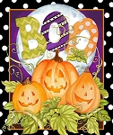 HALLOWEEN HAPPY HAUNTING  PANEL, BY SPRING CREATIVE