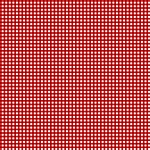 LET'S GO GLAMPING, RED GINGHAM, BY WILMINGTON