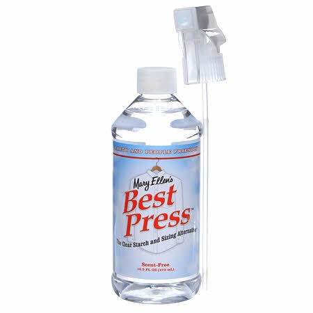 Best Press Spray Starch From Mary Ellen S