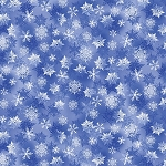 WINTER'S PEARL,LIGHT BLUE SNOWFLAKES ,BY KANVAS