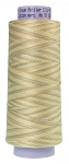METTLER SILK FINISHED VARIEGATED 50WT COTTON, PEARL TONES