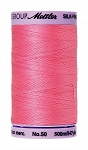 METTLER SILK FINISH 50 WT COTTON, 500M,  ROSEATE