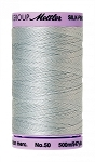 METTLER SILK FINISH 50 WT COTTON, 500M, MOONSTONE
