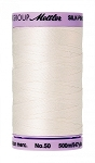 METTLER SILK FINISH 50 WT COTTON, 500M,  CANDLEWICK