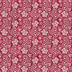 THE LITTLE THINGS, PAISLEY RED BY MAYWOOD STUDIO