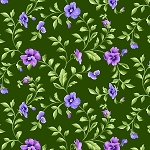EMMA'S GARDEN,GREEN TRAILING PANSY ,BY MAYWOOD