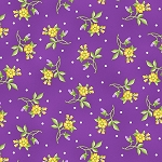 EMMA'S GARDEN, VIOLET LITTLE FLOWERS ,BY MAYWOOD