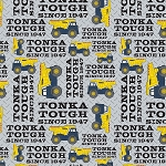 TONKA ,YELLOW TONKA TOUGH, BY CAMELOT