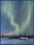 MULTI NORTHERN LIGHTS PANEL,BY P and B TEXTILES