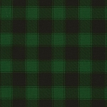 CHRISTMAS CABIN, GREEN PLAID BY TIMELESS TREASURES