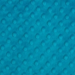 Dimple Dot Cuddle, Turquoise,by Shannon Fabrics