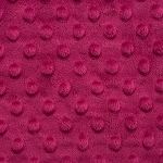 Dimple Dot Cuddle, Magenta,by Shannon Fabrics
