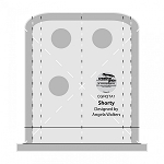 CREATIVE GRIDS MACHINE QUILTING TOOL-SHORTY,BY ANGELA WALTERS
