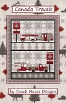 CANADA TRAVELS ,QUILT PATTERN, BYCOACH HOUSE DESIGNS