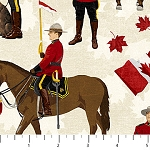 CANADIAN CLASSIC , CREAM MOUNTIES, BY NORTHCOTT