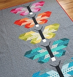 Frances Firefly Paintbox Basics Quilt Kit, by Robert Kaufman