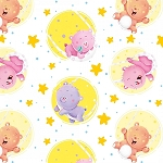WISH UPON A STAR FLANNELBEARS IN CIRCLES , BY HENRY GLASS