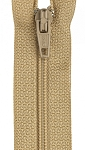 All Purpose Polyester Coil 16'' Zipper Camel  , from Coats & Clark