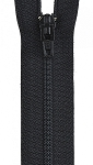 All Purpose Polyester Coil 16'' Zipper Black  , from Coats & Clark
