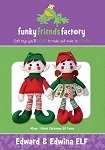EDWARD & EDWINA ELF, PATTERN, BY FUNKY FRIENDS FACTORY