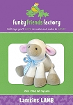 LAMKINS LAMB,  PATTERN, BY FUNKY FRIENDS FACTORY